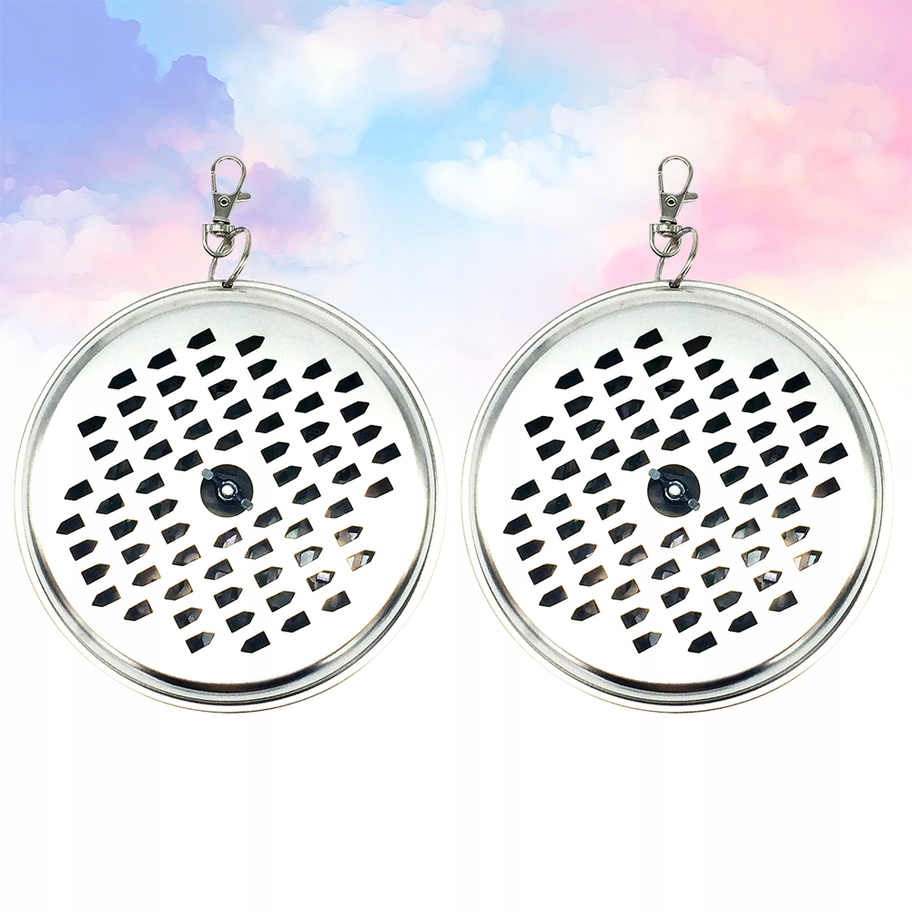 2 Pcs Hanging Iron Mosquito-Repellent Incense Hold