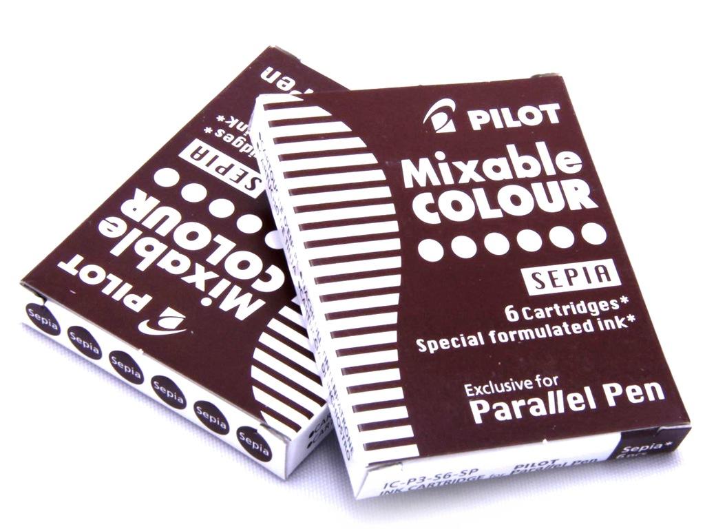 Naboje Do Pior Pilot Parallel Pen Wklady Sepia 6794311280 Oficjalne Archiwum Allegro