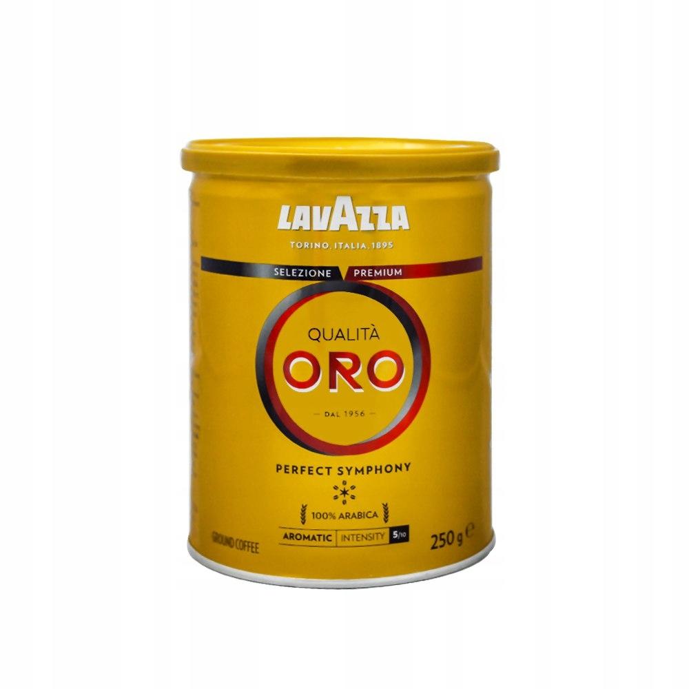 Lavazza Qualita Oro 250 g kawa mielona w puszce