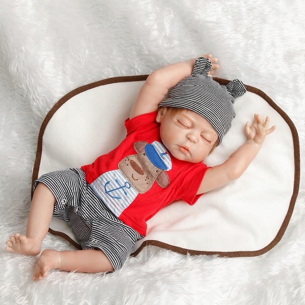 Lalka Niemowlę Śliczny Chłopczyk Reborn 45CM