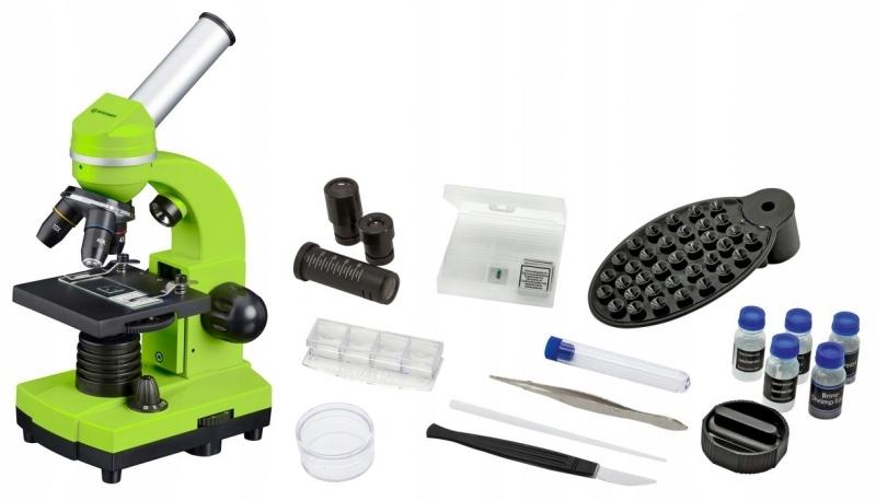 OUT Mikroskop Szkolny Bresser Biolux SEL 40-1600x