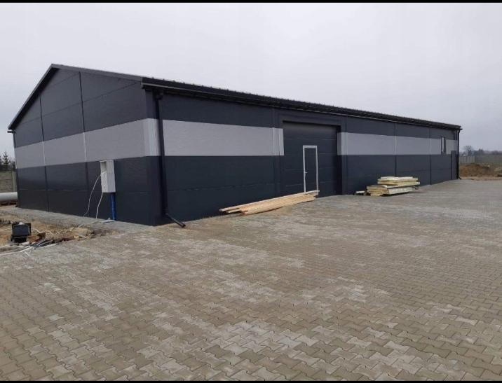 Hala stalowa przemyslowa 12x25x4 magazyn Euro-Met
