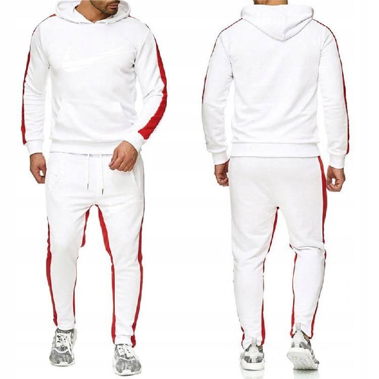 Spodnie dresowe w paski pasują do spor Warst XL