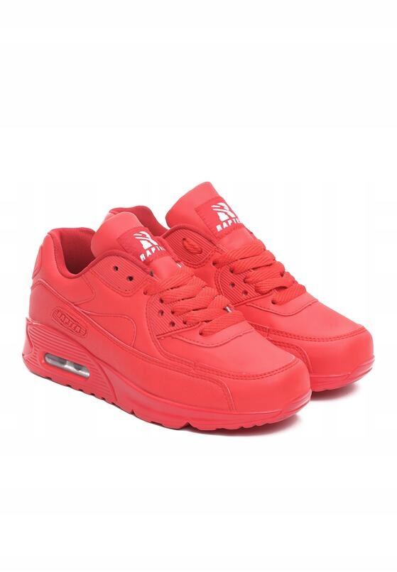 Buty Damskie Sportowe Adidasy Czerwone Air Max r38