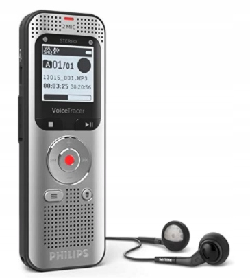 DYKTAFON Philips Voice Tracer DVT2050