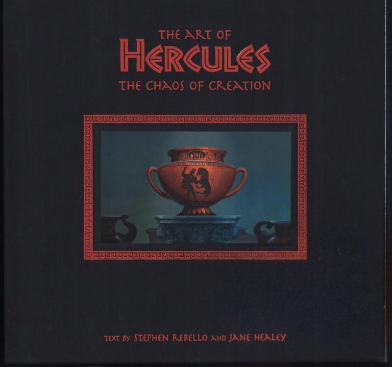 Disney - THE ART OF HERCULES - autografy twórców