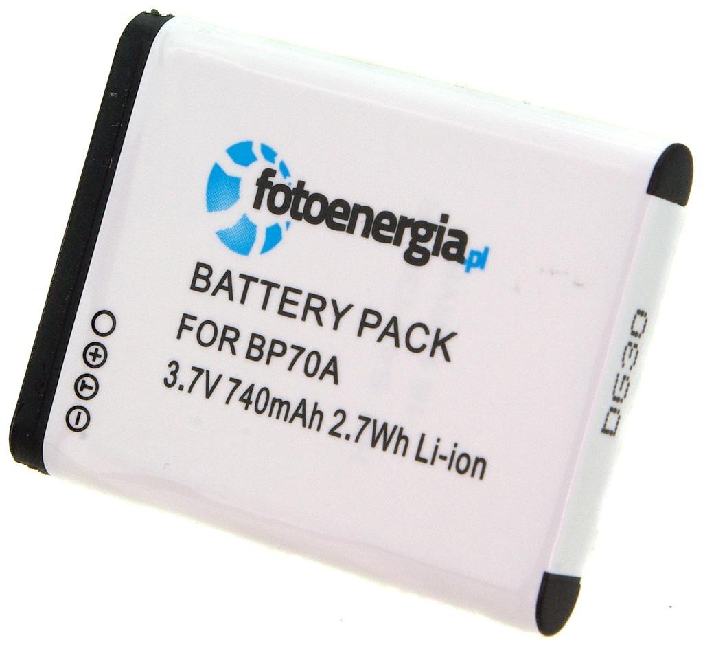 wb50f bp70a wb35f Batería para Samsung wb35 wb50