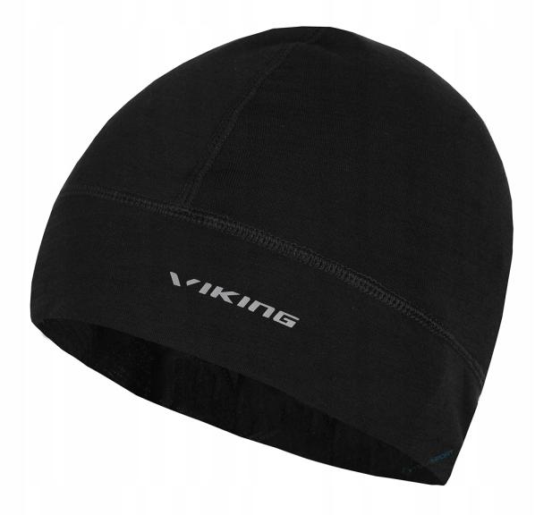 Lekka ciepła czapka Viking Miram Merino