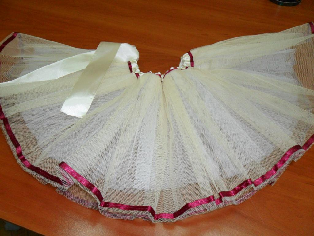 mini tutu spódniczka na balet