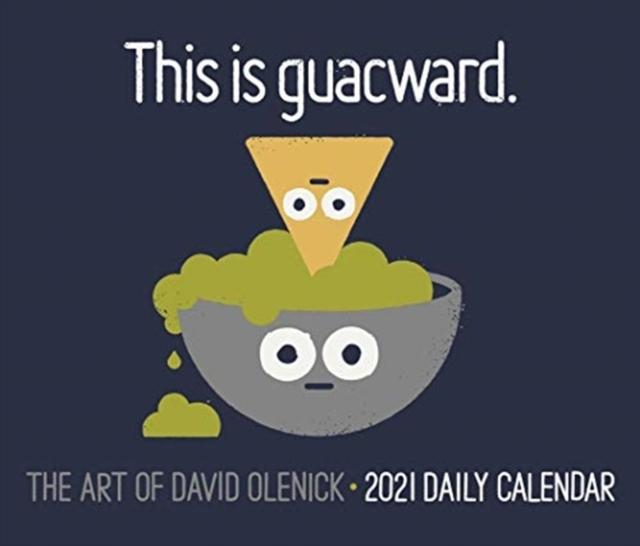 The Art of David Olenick 2021 Box Calendar