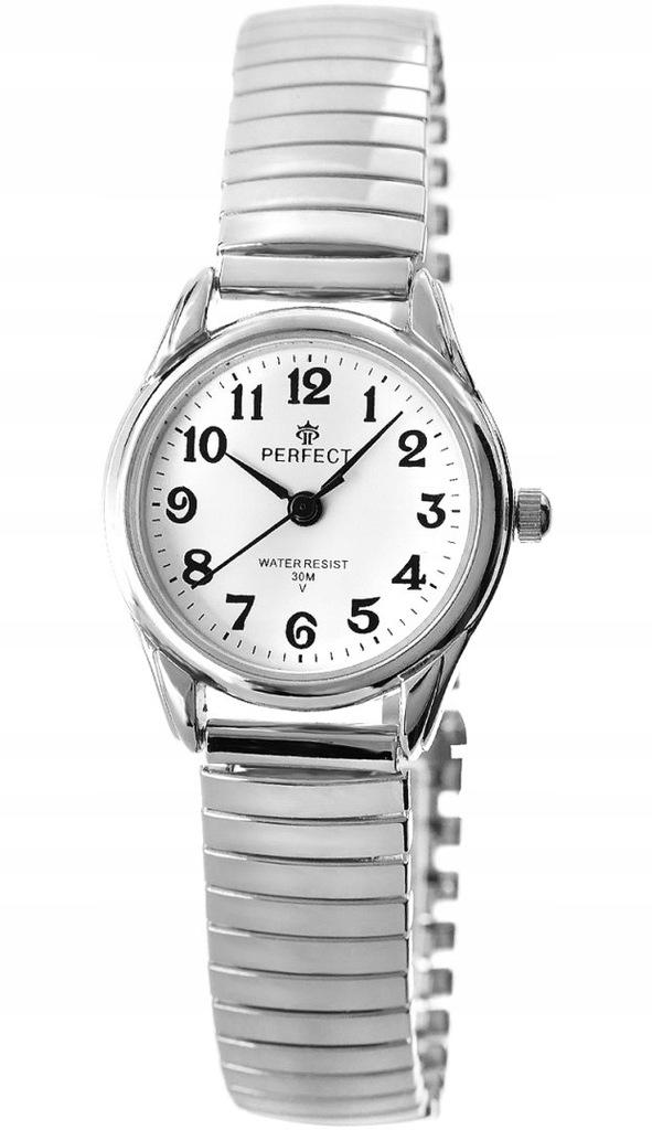 Zegarek Damski Perfect X075-2 Stretch Srebrny