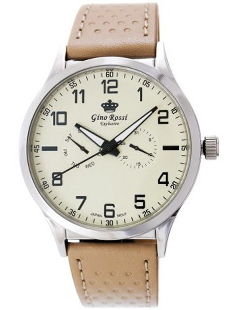 Zegarek Męski Gino Rossi EXCLUSIVE CHONOGRAF E1085