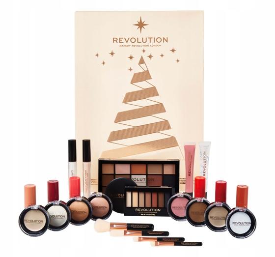 Makeup Revolution Kalendarz Adwentowy Zestaw 2018 7682887212 Oficjalne Archiwum Allegro