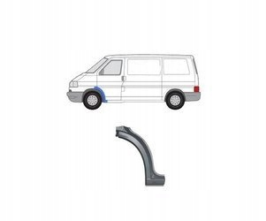 Reparaturka błotnika VW Transporter 96-03 Przód L