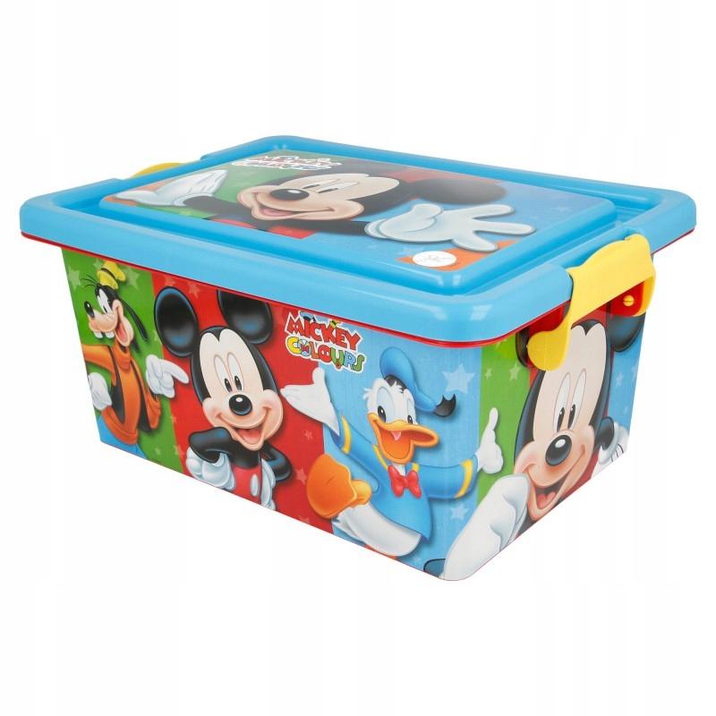 Mickey Mouse - Pojemnik / organizer na zabawki 7 L