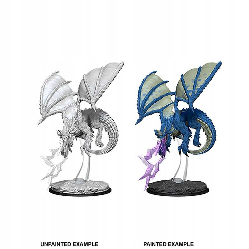 DnD Nolzur Marvelous Miniatures Young Blue Dragon