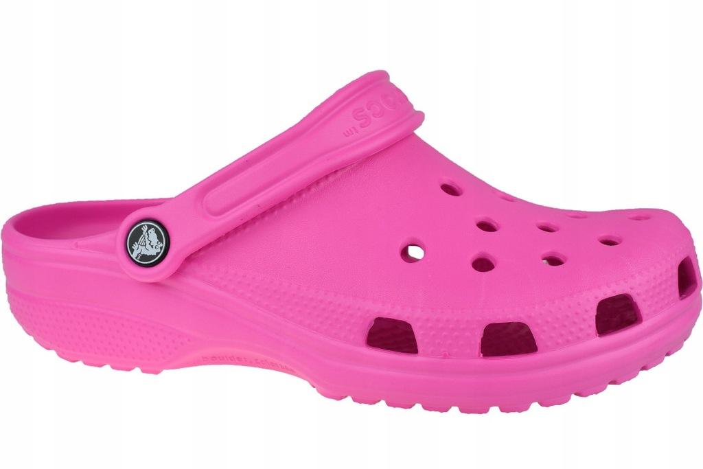 Crocs Classic 10001-6QQ : Kolor - Różowe, - 37/38