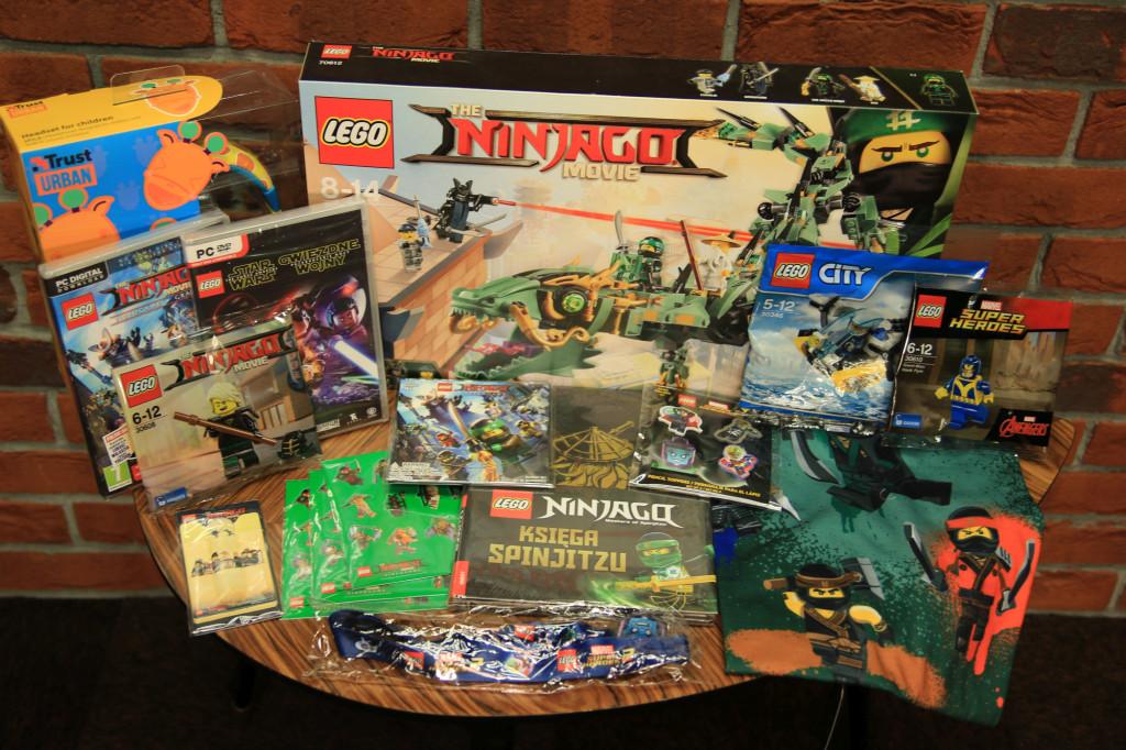 Wyjątkowy zestaw gier, gadżetów i klocków LEGO