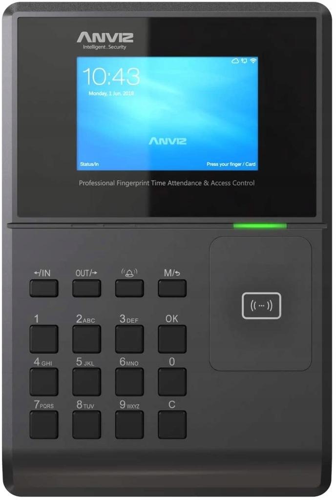 Czytnik czasu karty RFID Profesjonalny Anviz OC580