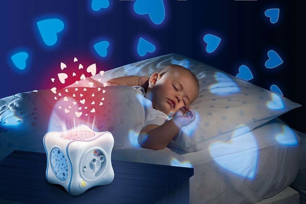Tęczowa lampka first dreams dla maluszka CHICCO