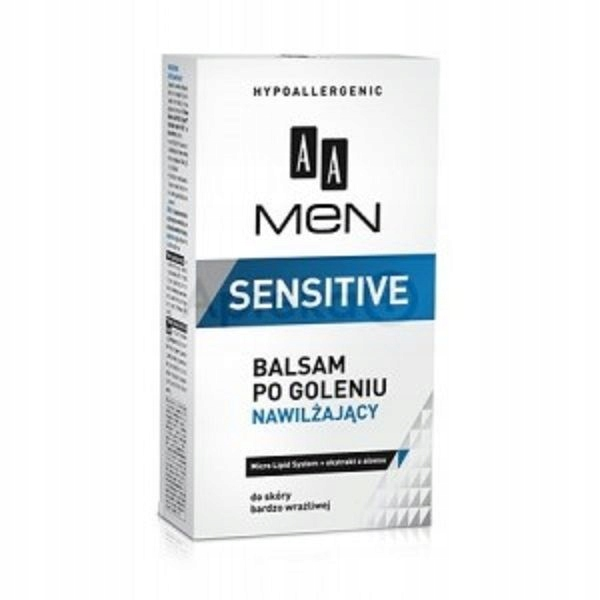 AA Men Sensitive After-Shave Balm nawilżający bals