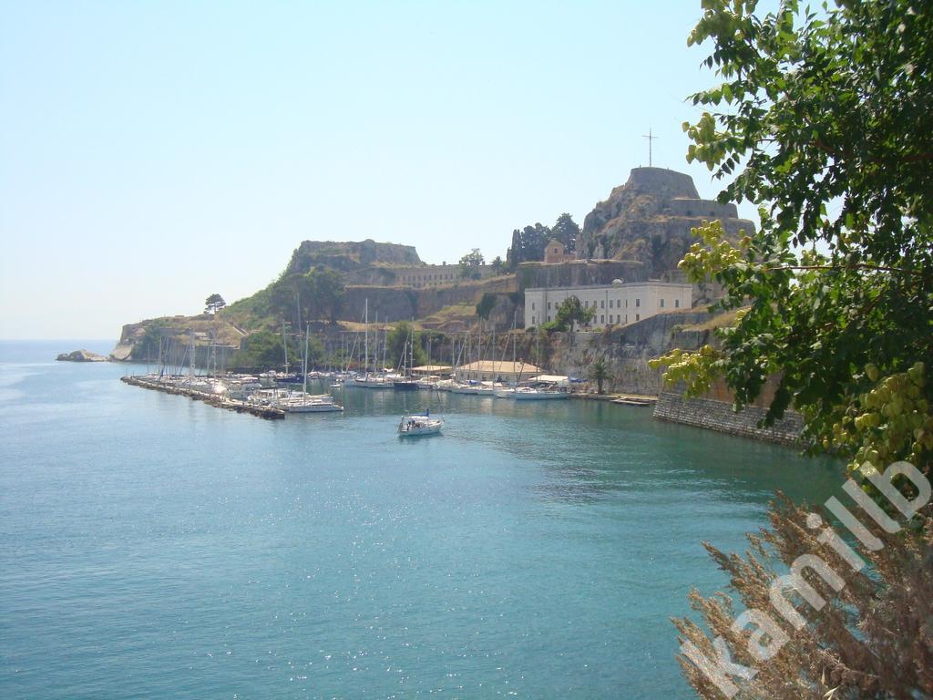 Wspomnienie z wakacji - Korfu (tapeta na pulpit)
