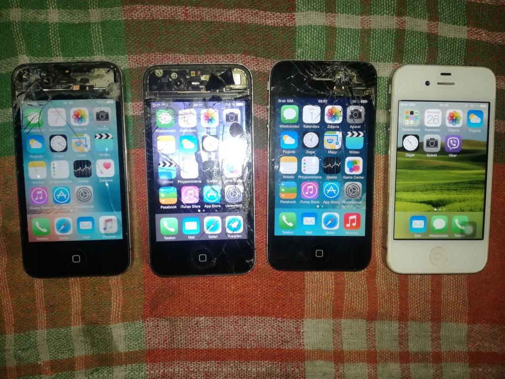 Zestaw 3x Iphone 4 A1332