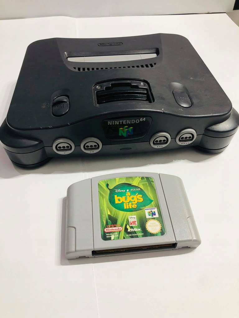 Nintendo 64 + Gra + Okablowanie +pad