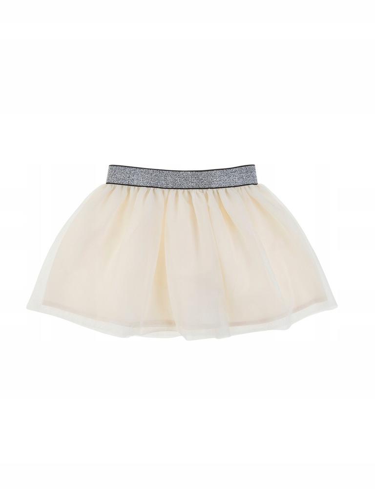 TXM spódnica dziewczęca 116 KREMOWY