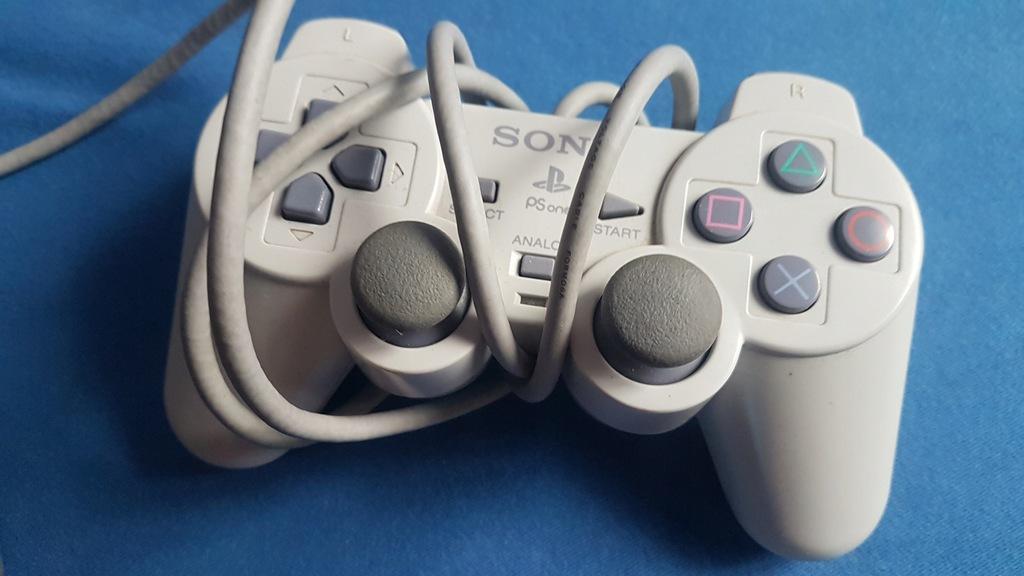 Kontroler pad joystick pady i zasilacz PlayStation