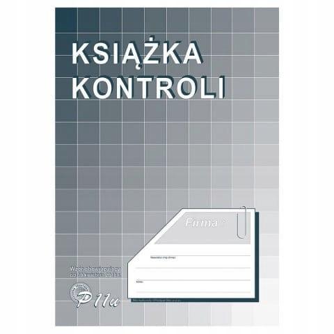 Druk Książka kontroli A4, MiP