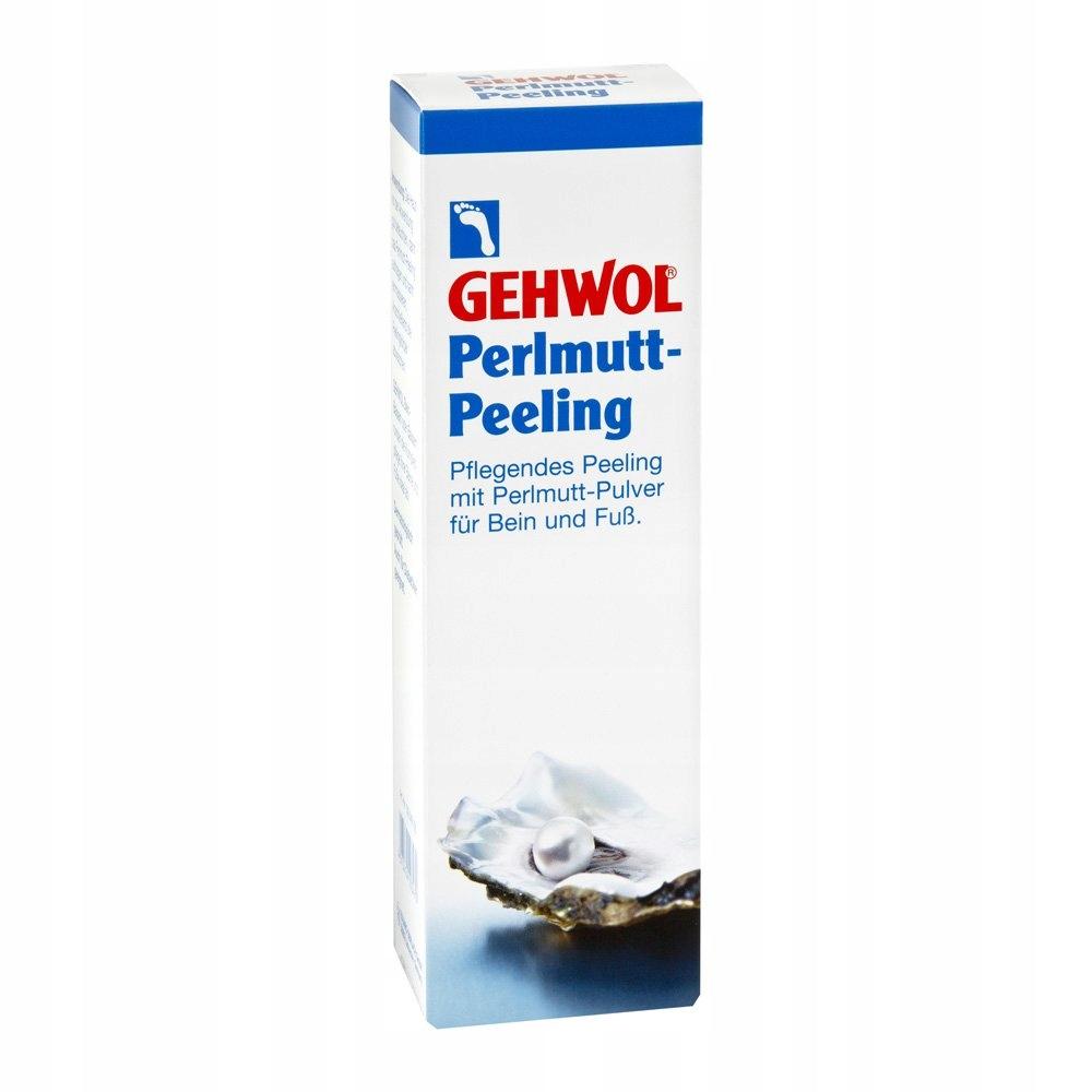 Peeling do stóp GEHWOL z masy perłowej 125 ml