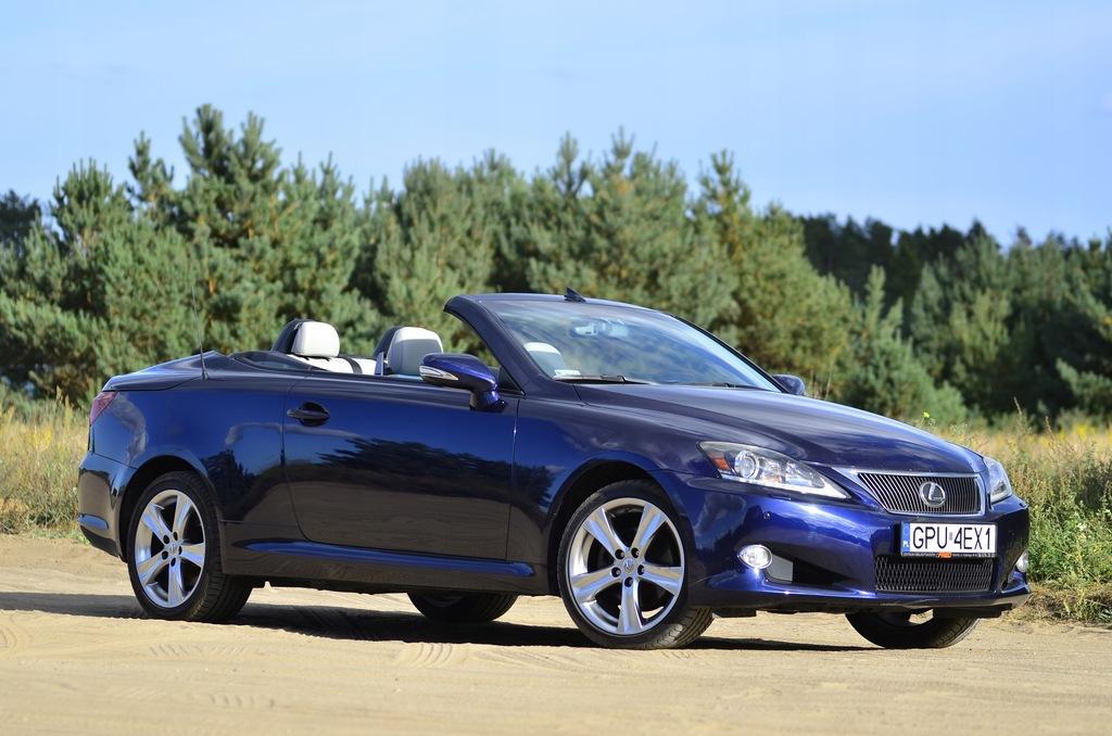 lexus is250 piękny kabriolet