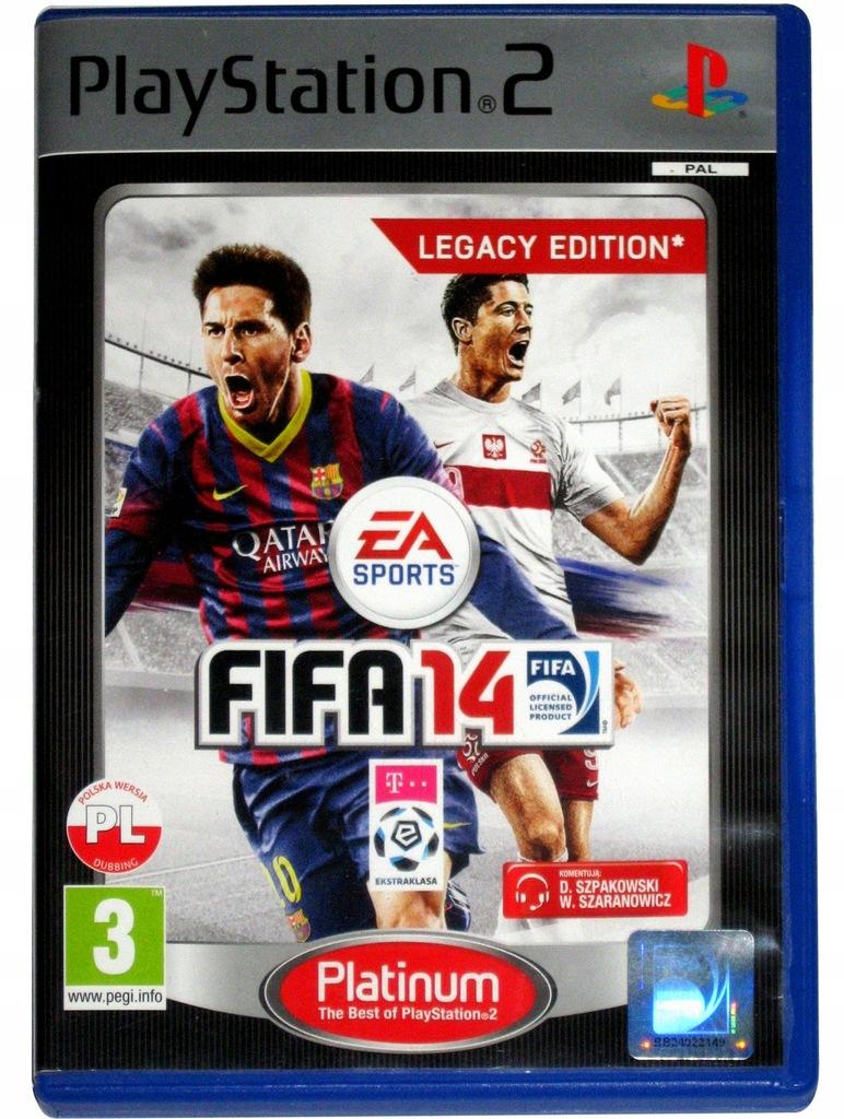 Fifa 14 Ps2 Po Polsku Pl Playstation 8378262305 Oficjalne Archiwum Allegro