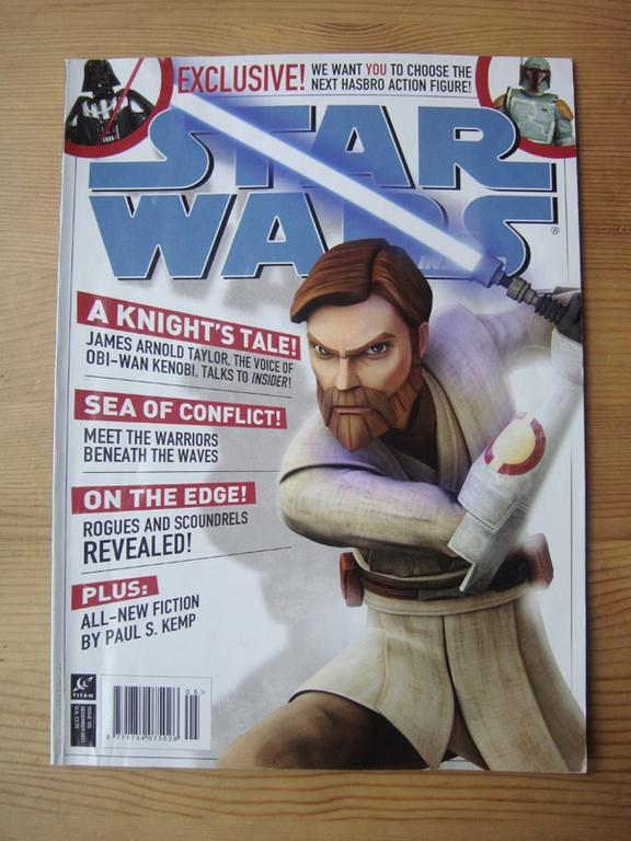 Star Wars Insider z autografem Geralda Home'a