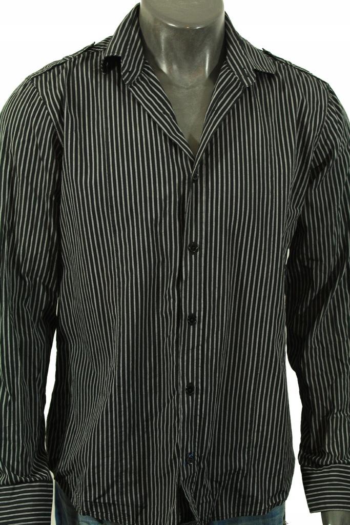 NEXT Koszula z wzorkiem w paski stylowa! L