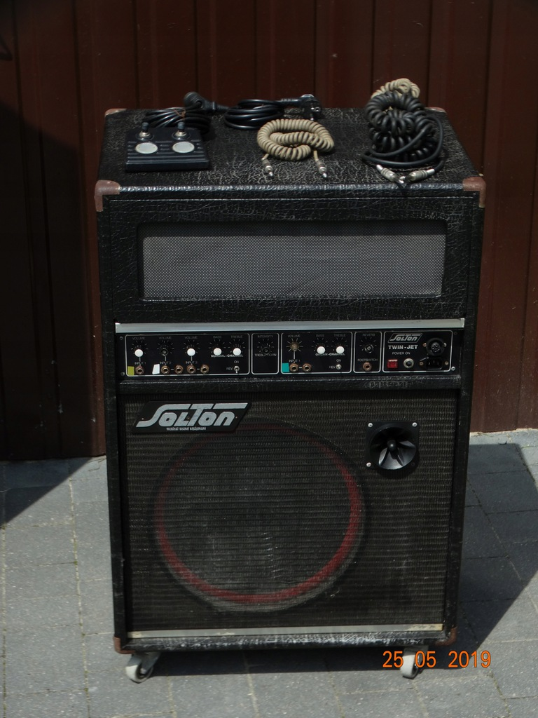 Głośnik gitarowy ,,PIEC,, SOLTON TWIN JET 200