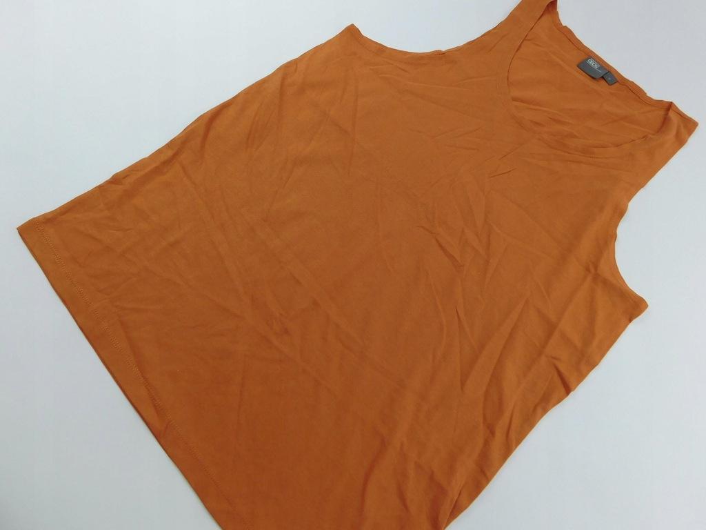 0803mk46 ASOS pomarańczowa BLUZKA podkoszulka M