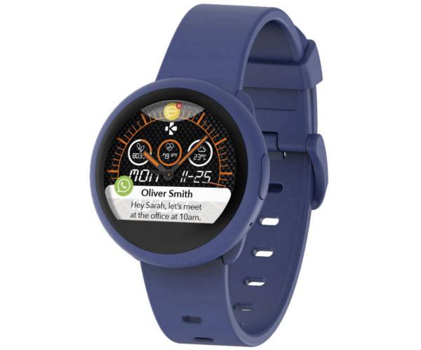 Mykronoz ZEROUND3 LITE niebieski smartwatch SMS