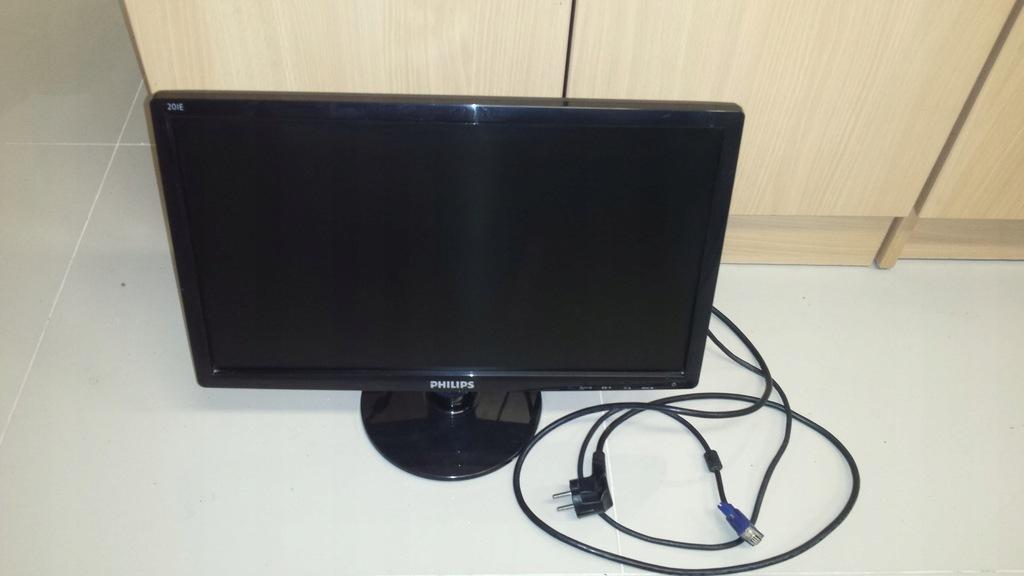 Monitor Philips 201e Uzywany Czarny Sprawny W 100 7746136792 Oficjalne Archiwum Allegro