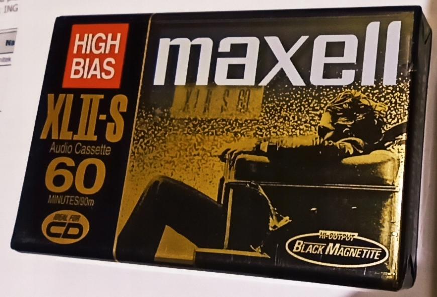 Maxell XLII-S 60 1998r. NOWA 1szt,