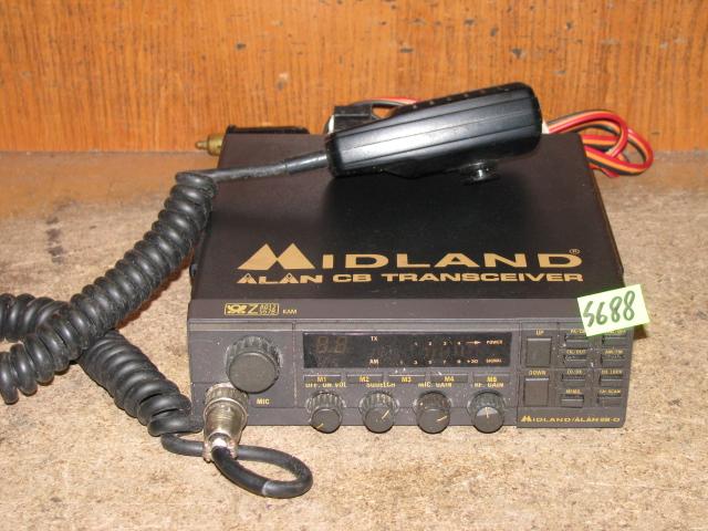 CB RADIO MIDLAND ALAN 28-D - NR S688