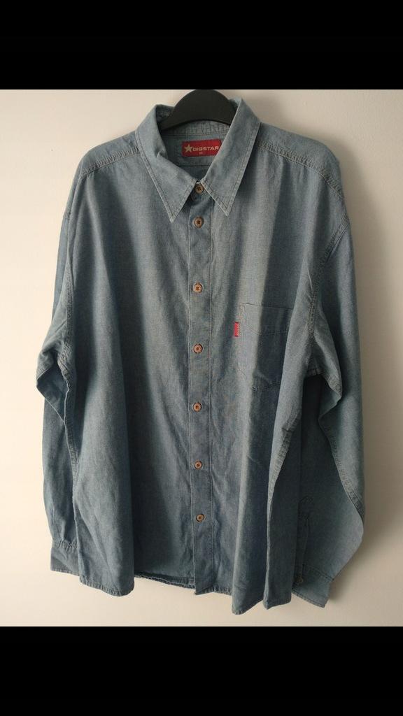 Koszula męska jeansowa, Big Star, XXL