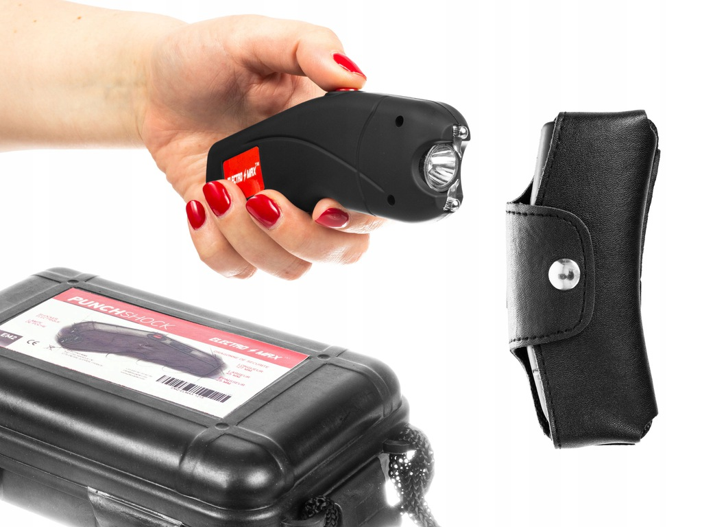 Paralizator USB Piranha Punchshock 3mlnV z latarką