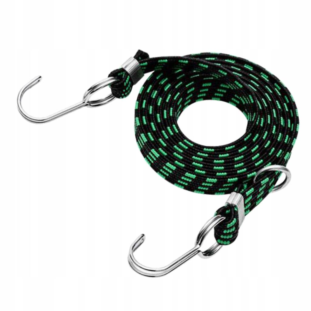 1 kawałek elastycznego paska - Zielony 1m