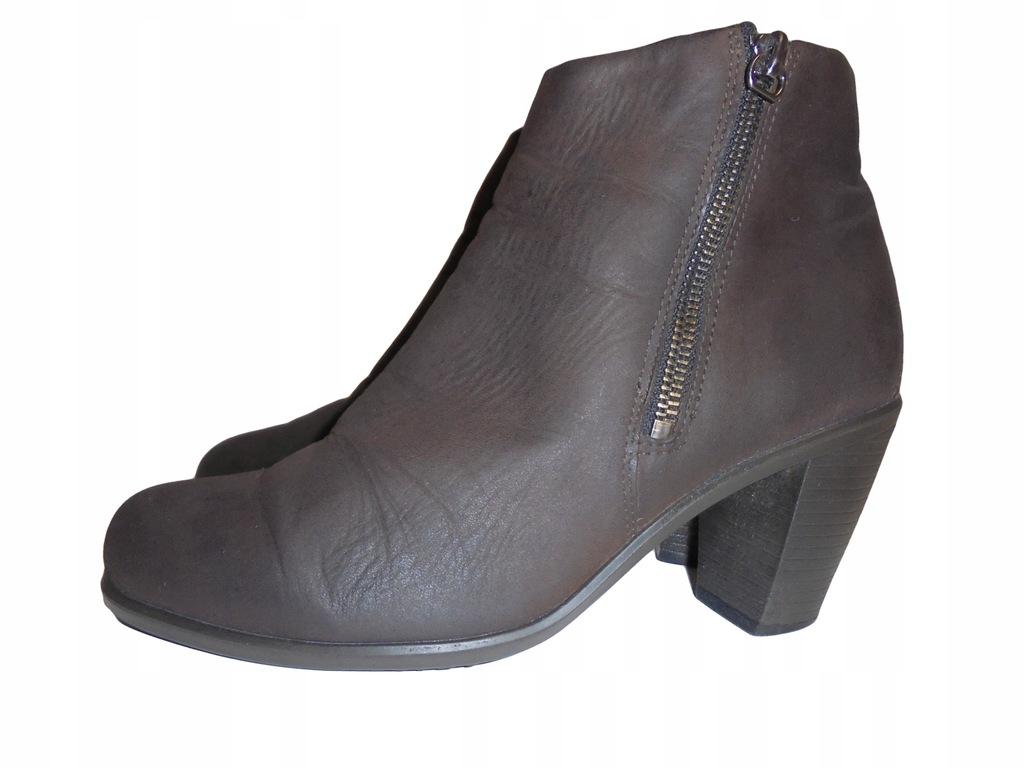 Skórzane buty firmy Ecco. Rozmiar 38.