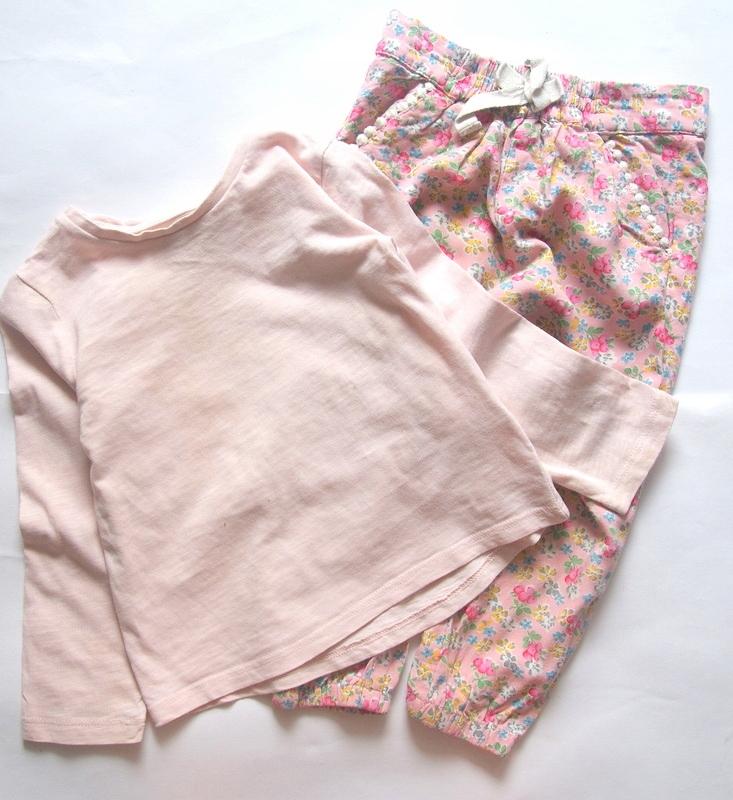 NEXT*Boski komplet Spodnie +bluzka *92