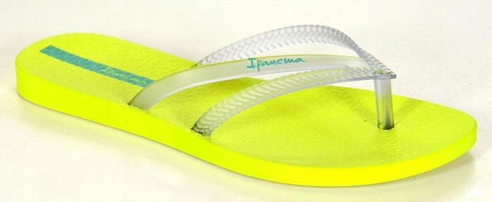 IPANEMA 82067 YELLOW/CLEAR R39/40 Meritum Klapki