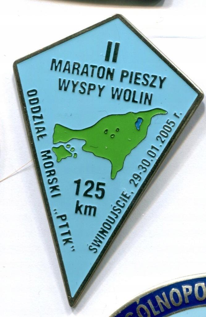 C) II Maraton Pieszy Wyspy Wolin