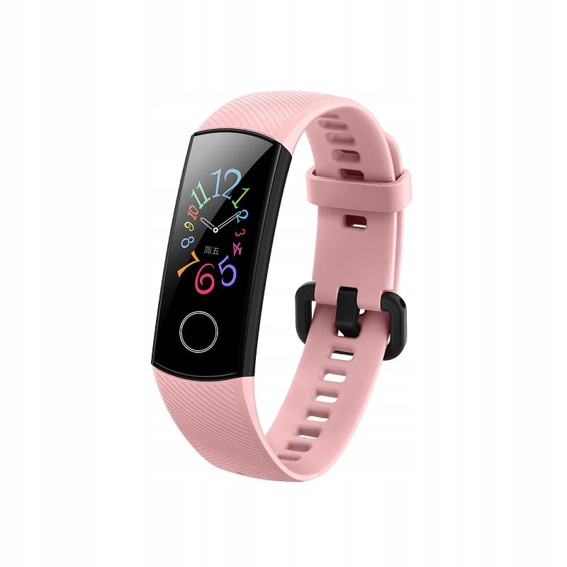Huawei Honor Band 5 Smartband Opaska Różowy
